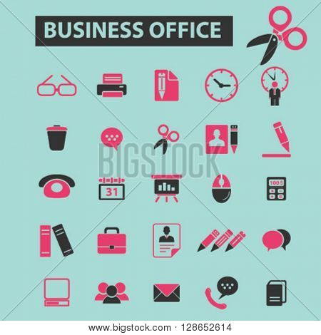 business office icons