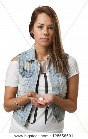 Girl With Pills