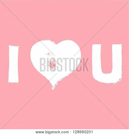 Valentines Day vector abstract background. Vector silhouettes. Love background. Romance and feminine background. Texture.  Greetings card.