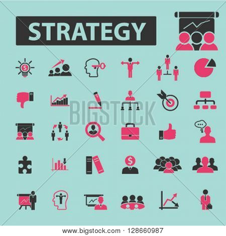 strategy icons