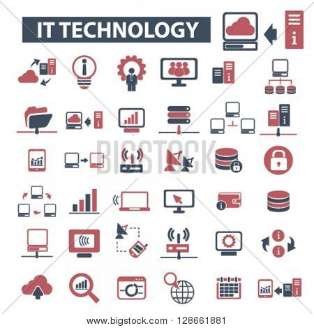 it technology icons
