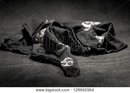 Black Bandana On Black