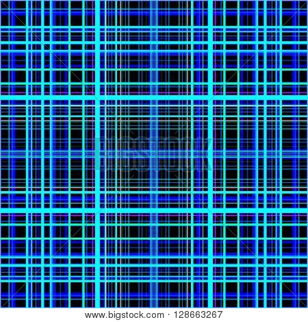 Blue colors grid pattern abstract.