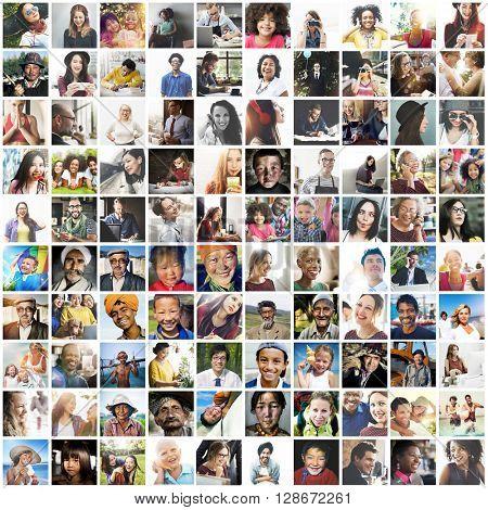 Diverse Ethnic Diversity Ethnicity Community Concept