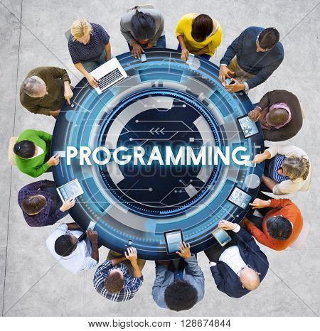 Programming Program Computer Technology Code Concept
