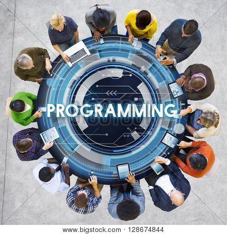 Programming Program Computer Technology Code Concept