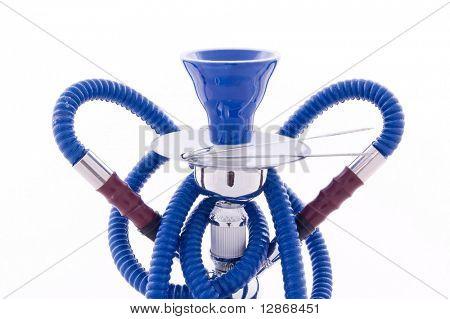 blue hookah