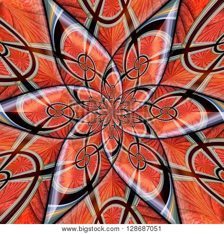 Abstract Glossy Ornament