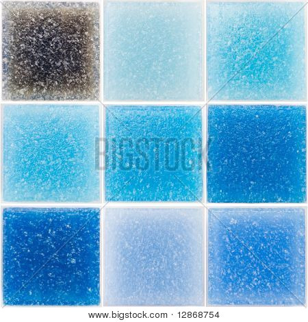 paleta de cristal rico azulejos