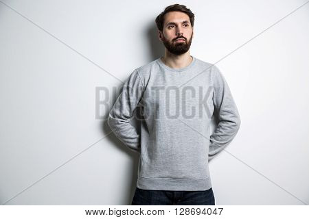 Bearded Man Long Sleeves