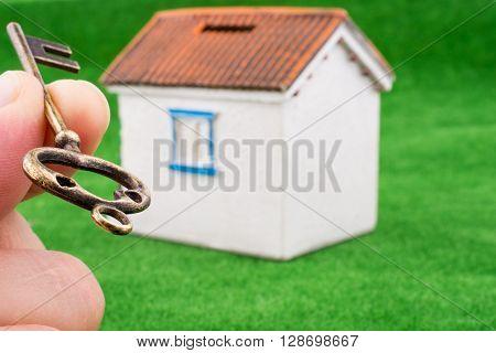 Key Near A House