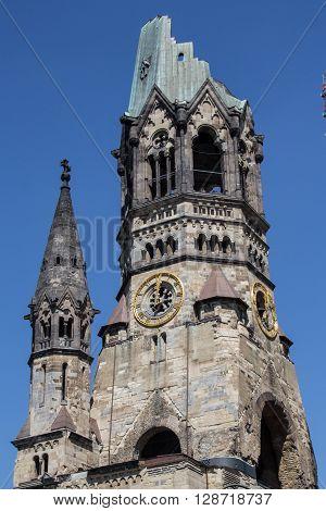 Kaiser Wilhelm Gedaechtniskirche/ Church, Berlin