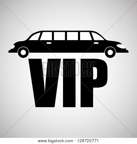 VIP concept with icon design, vector illustration 10 eps graphic.