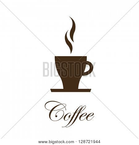 Coffee background - graphic element
