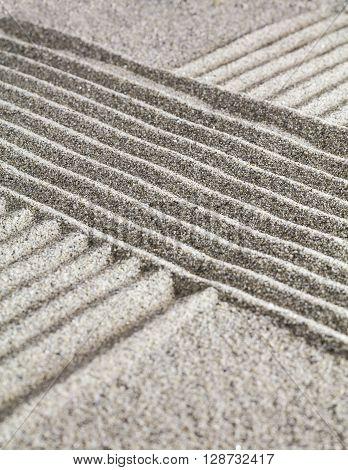 Figure On The Sand.