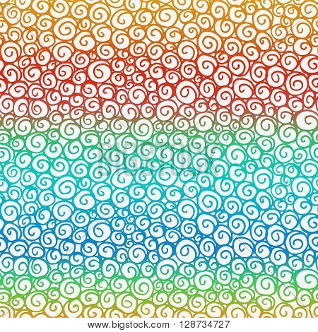Seamless Hand Drawn Doodle Graphic Pattern