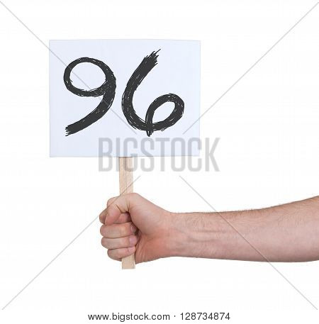 Sign With A Number, 96