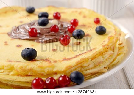 Berry And Pancakes