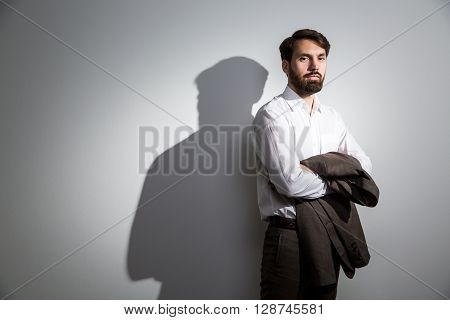 Suit In Hand Shadow