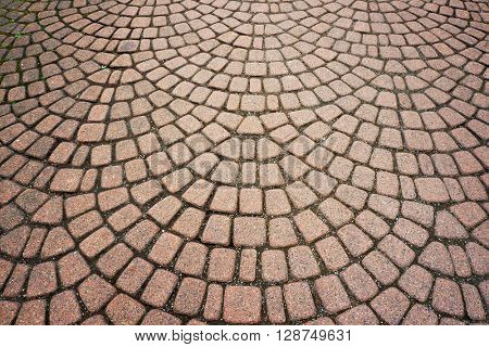 Stone paving pattern. Abstract structured background.