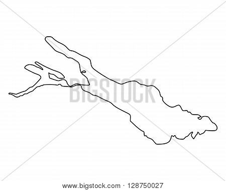 Map Of Lake Constance