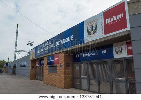 Butarque Stadium Leganes