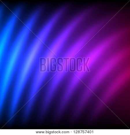 Purple Blur Lines Dark Background Presentation