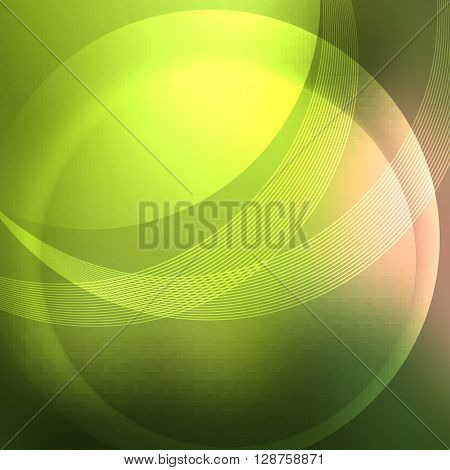 Soft Green Background Overlay Form Following Lines