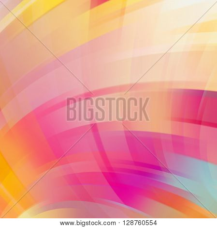 Abstract Technology Background Vector Wallpaper. Stock Vectors Illustration. Pastel Pink, Orange Col