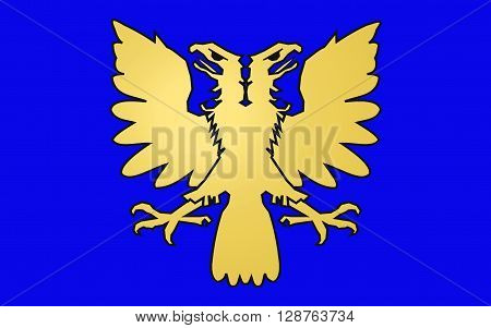 Flag of Alencon is a commune in Normandy France capital of the Orne department