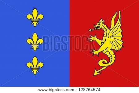 Flag of Bergerac is a commune and a sub-prefecture of the Dordogne department in southwestern France.