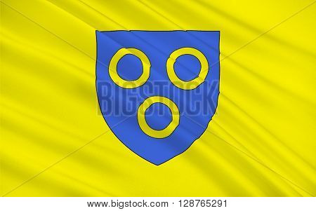 Flag of Chalon-sur-Saone is a commune in the Saône-et-Loire department in the region of Bourgogne-Franche-Comté in eastern France.