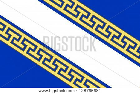 Flag of Champagne-Ardenne is a former administrative region of France located in the northeast of the country bordering Belgium.