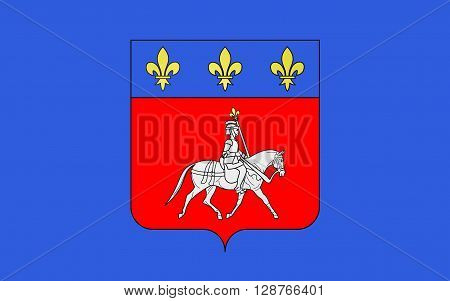 Flag of Cognac is a commune in the Charente department in southwestern France. It is a sub-prefecture of the department.