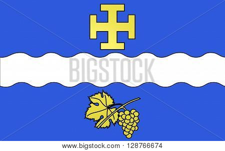 Flag of Creteil is a commune in the southeastern suburbs of Paris France