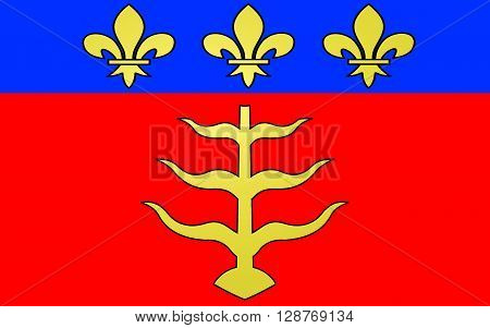 Flag of Montauban is a commune in the Tarn-et-Garonne department in the Midi-Pyrénées region in southern France
