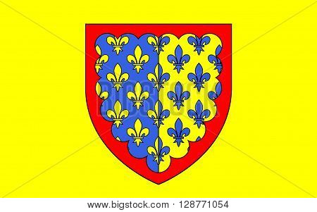 Flag of Saint-Flour is a commune in the Cantal department in the Auvergne region in south-central France. Its inhabitants are called Sanflorains
