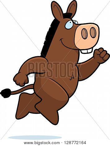 Donkey Jumping