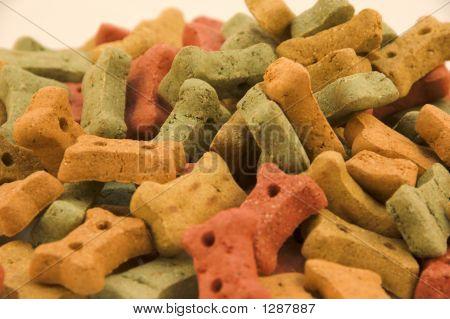 Dog Treats Pie Ready To Be Eaten