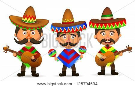 Mexican hat sombrero mexican hat isolated mexican hat vector