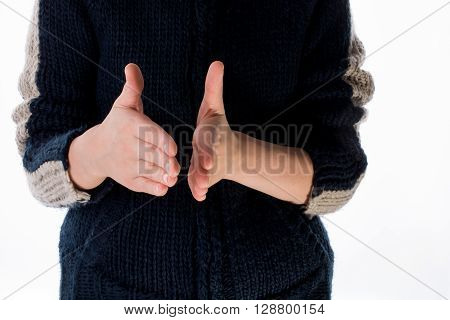 Hand Making A Gesture