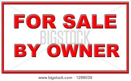 En venta por dueño signo