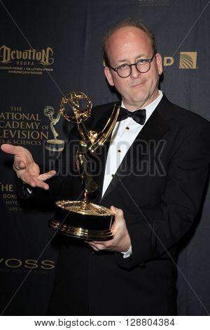 LOS ANGELES - APR 29: Outstanding Make Up, Todd Masters at The 43rd Daytime Creative Arts Emmy Awards Gala at the Westin Bonaventure Hotel on April 29, 2016 in Los Angeles, California