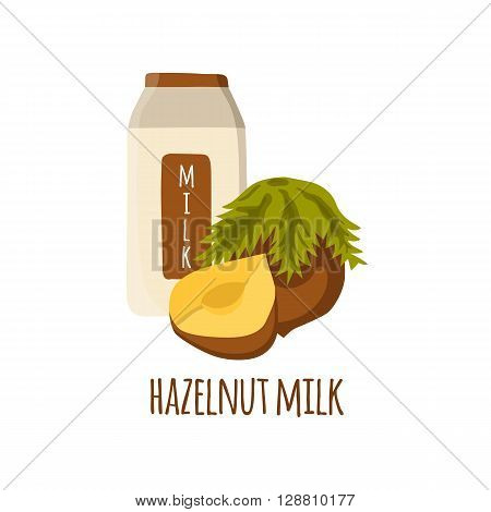 Nuts milk recipes. Healthy organic raw food. Milk intolerance lactose free concept. Vegan vegetarian source of protein. Weight loss diet beverage. Organic store market objects