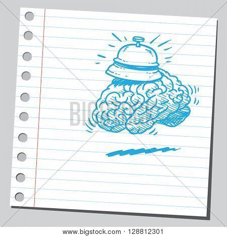 Service bell brain