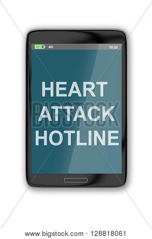 Heart Attack Hotline Concept