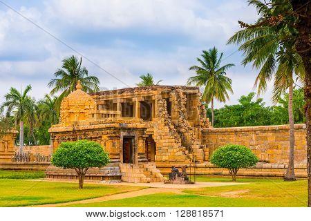 View At Hindu Temple Dedicated To Shiva, Ancient Gangaikonda Cholapuram Temple, India, Tamil Nadu, T
