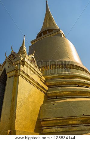 Wat Phra Kaew is one of the most popular tourists destination in Thailand
