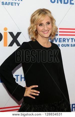 LOS ANGELES - MAY 3:  Stephanie Soechtig at the Under the Gun Premiere at the Samuel Goldwyn Theater on May 3, 2016 in Beverly Hills, CA