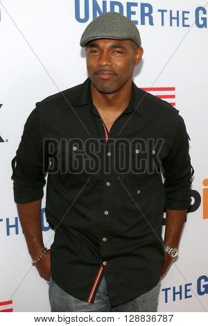 LOS ANGELES - MAY 3:  Jason George at the Under the Gun Premiere at the Samuel Goldwyn Theater on May 3, 2016 in Beverly Hills, CA
